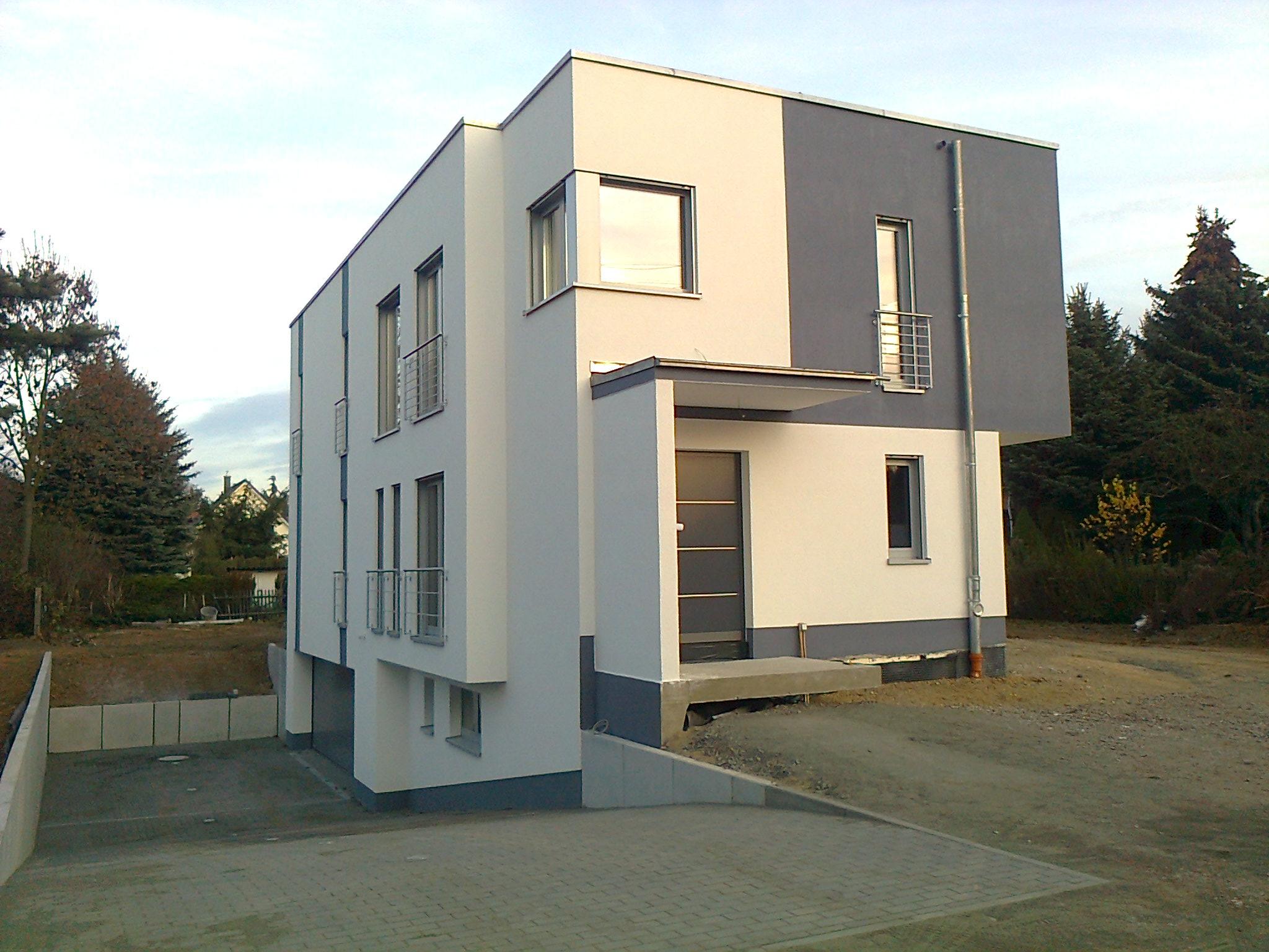 Erichtung eines Einfamilienhaus in Leipzig