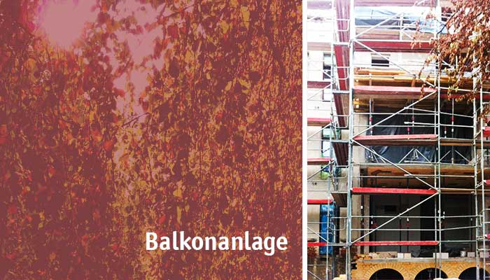 Balkonanlage Leipzig