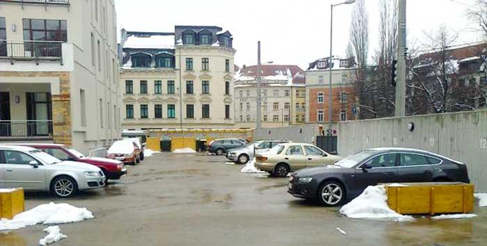 Tiefgarage Leipzig Parkdeck